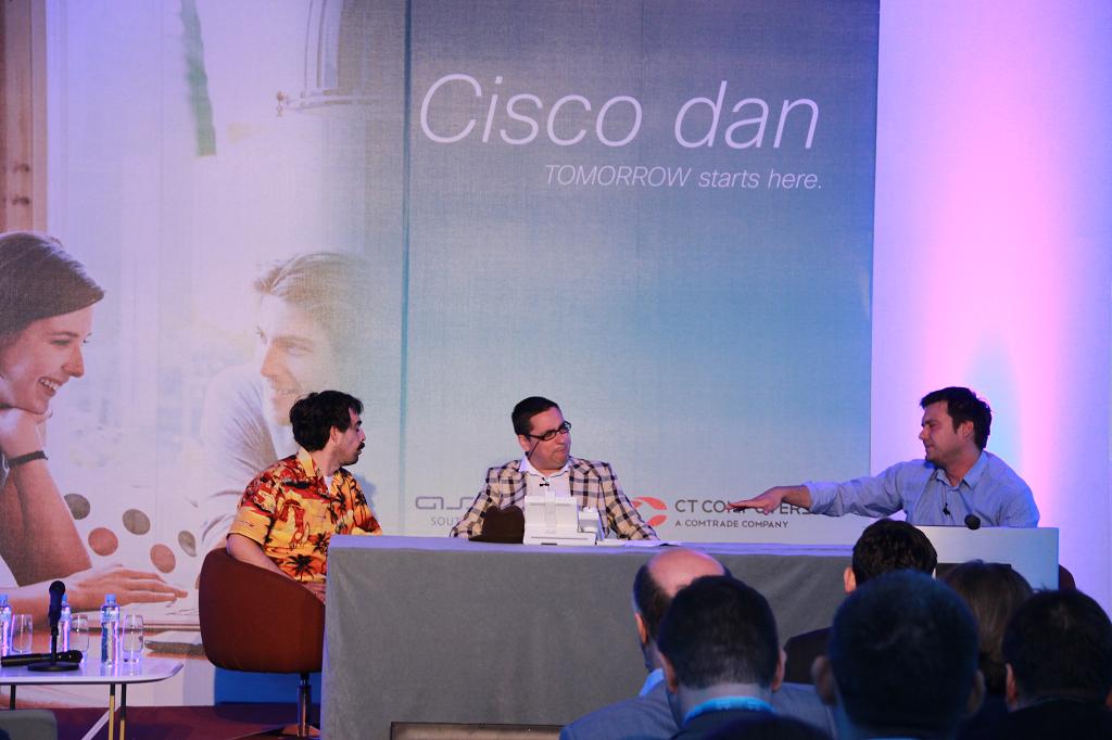 """Cisco dan 2014, gosti iznenadjenja """"Državni posao"""""""