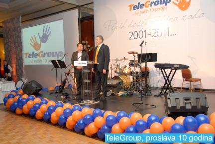 TeleGroup, proslava 10 godina